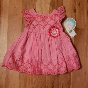 NWT Nannette Eyelet Embroidered Dress w/ bloomers